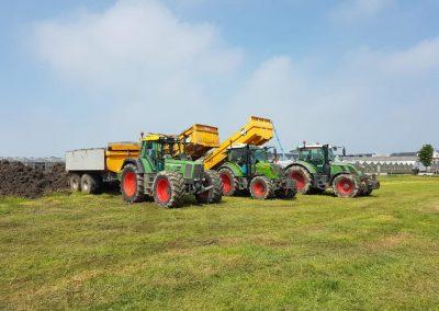 Tractor + kipper 7 t/m 15m3