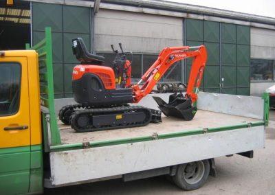1 ton minigraver (2x)